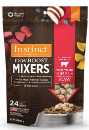 Today only, Amazon takes 25% off a selection of Instinct cat and dog food. Plus, cut an extra 5% off by checking out with Subcsribe & Save