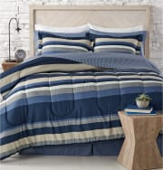 8-Piece Reversible Bedding Sets at Macy's for $30 + pickup at Macy's