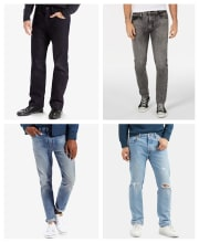 Levi's Men's Clearance Jeans at Macy's from $17 + pickup at Macy's