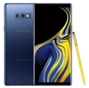 T-Mobile takes 50% off the Samsung Galaxy Note9 Android Smartphone when you trade in select Samsung devices. With that purchase you can choose AKG noise-canceling wireless headphones or a game bundle for free
