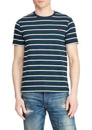Polo Ralph Lauren Men's Classic Fit Crewneck T-Shirt for $8 + free s&h w/beauty item