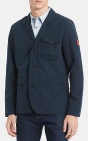 Calvin Klein Men's Textured Utility Blazer for $40 + pickup at Macy's