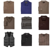 Men's Clearance Sweaters at Jos. A. Bank for $12 + free shipping