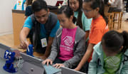 Microsoft Stores offer YouthSpark Kids' Summer Camps for free throughout June, July, and August. (Enter your location to see dates and times in your local store.) These camps instruct kids in Minecraft coding, robotics, movie making, fundraising, and ...
