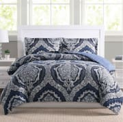 Macy's discounts a selection of 2- to 3-piece comforter sets to $18.99. Pad your order with a beauty item (eligible items start at $3) to bag free shipping; otherwise, shipping adds $10.95
