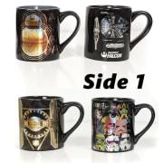 Star Wars Metallic Print Large 14-oz. Mug 4-Pack for $20 + free shipping