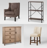 Target takes up to 50% off select clearance furniture. Plus, most of these items qualify for free shipping; otherwise, choose in-store pickup to avoid shipping fees