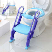 "Manker via Amazon offers the Makone Potty Training Seat with Step Stool in several colors (Blue pictured) from $43.99. Coupon code ""E8SW36HX"" cuts that starting price down to $24.19"