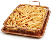 Walmart offers the Copper Chef 2-Piece Copper Crisper for $7.30. Opt for in-store pickup to dodge the $5.99 shipping fee