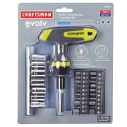 Craftsman 30-Piece Ratcheting T-Handle Set for $8 + pickup at Sears