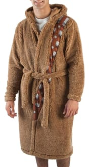 Bioworld Men's Star Wars Chewbacca Robe with Sound Chip for $20 + free shipping