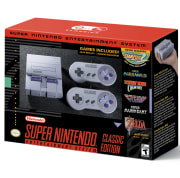 Walmart offers the Super Nintendo Entertainment System: Nintendo Classic Mini for $79.96 with free shipping. Although that's list price, it's rare for any major retailer to have this high-demand console in stock