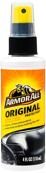 Amazon offers the Armor All Original Protectant 4-oz. Spray for $1.27