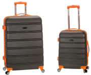 """Walmart offers the Rockland Melbourne 20"""" & 28"""" Spinner Luggage Set in Charcoal/Gray for $67.99 with free shipping. That's the lowest price we could find by $12, although we saw it in a different color for $15 less last July"""