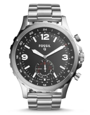 Fossil offers the Fossil Q Stainless Steel Hybrid Smartwatch in Nate Stainless Steel or Commuter Black Stainless Steel for $95 with free shipping. That's $10 under our mention from Cyber Monday and the lowest price we could find now by $76