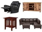 """Home Depot takes up to 50% off a selection of living room furniture. Plus, coupon code """"LIVINGROOM15"""" cuts an extra 15% off"""
