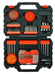 Black + Decker 250-Piece Complete Project Accessory Set for $24 + pickup at Walmart
