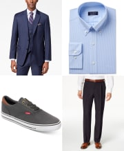 Men's Clearance Suiting Event at Macy's: 70% to 85% off + free shipping w/ $75