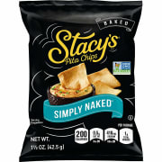 PepsiCo via Amazon cuts an extra $2.50 off of the Stacy's Pita Chips 1.5-oz. Bag 24-Pack in Simply Naked