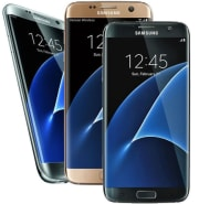 Refurb Unlocked Samsung Galaxy S7 Edge 32GB GSM Android Smartphone for $96 + free shipping