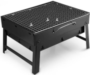 "RBU International Group via Amazon offers the Uten Stainless Steel Barbecue Charcoal Grill for $22.99. Coupon code ""Uten4329"" cuts that to $16.09"