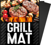 With orders of $25 or more, Amazon offers Prime members three G & F Non-Stick BBQ Grill Mats for $3.67 with free shipping. That's the lowest price we could find by $4