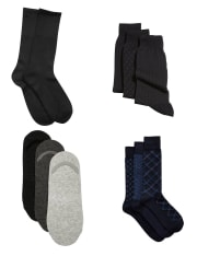As one of its daily deals, Men's Wearhouse takes 50% off men's sock multipacks, with deals starting from $7.49. Plus, Perfect Fit Rewards members bag free shipping