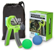 That Daily Deal offers the Hand Grip Strength Trainer Kit with 2 Hand Therapy Balls for free plus $5.49 for shipping. That's $18 off list and the lowest price we could find