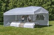Ozark Trail 10-Foot x 20-Foot Straight Leg Instant Canopy for $99 + free shipping