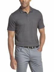 Van Heusen Men's Flex Striped Short Sleeve Polo Shirt for $6 + pickup at Walmart