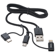 Vibe 3-in-1 USB Cable for $3 + $5 s&h