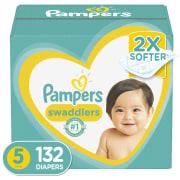 Pampers Swaddlers at Walmart: Buy 2 Packs, Get a $20 Walmart GC + $15 rebate + free shipping