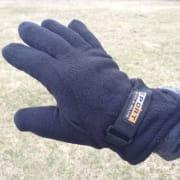 Polar Fleece Men's Gloves 3-Pack for $5 + free shipping