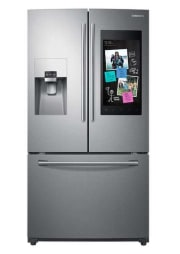 Samsung 24-Cubit Foot French Door Refrigerator w/ Family Hub Ring Video Doorbell Pro for $2,199 + free shipping