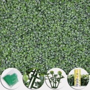 "20x20"" Artificial Boxwood Wall Hedge Panel 12-Pack for $83 + free shipping"