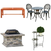 "Target takes up to 35% off select patio furniture and garden items. (Prices are as marked.) Plus, cut an extra 10% off via coupon code ""OUTDOOR"""