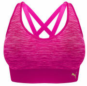 fbfef01d92d8f Costco offers the PUMA Women s Seamless Sports Bra 2-Pack in Pink for  9.99  with free ...