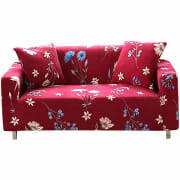 """Forcheer via Amazon offers a selection of its Forcheer Stretch Furniture Slipcover in several sizes/colors (Loveseat in Rose pictured) from $19.90. Coupon code """"15EUBTAP"""" cuts the starting price to $16.91"""