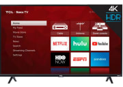 "TCL 65"" 4K HDR LED UHD Roku Smart TV for $478 + pickup at Walmart"