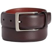 Perry Ellis Portfolio Men's Leather Amigo Dress Belt for $7 + pickup at Macy's