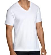 12 Fruit of the Loom Men's Dual Defense V-Neck T-Shirts for $15 + pickup at Walmart