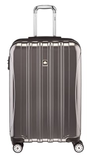 As one of its daily deals, Woot offers a selection of Delsey Helium Spinner Luggage, as listed below. Plus, Amazon Prime members bag free shipping