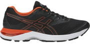 """Rakuten offers the ASICS Men's Gel-Pulse 9 Running Shoes in Black/ Tomato or Yellow/ Black for $49.99. Coupon code """"APPAREL20"""" cuts the price to $39.99"""