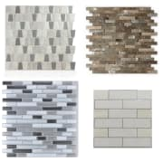 """Home Depot takes 15% off peel and stick backsplash tiles via coupon code """"PSBACKSPLASH15"""". Choose in-store pickup to avoid shipping fees, or get free shipping with most orders of $45 or more"""