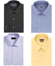 Men's Dress Shirts at Macy's from $10 + free shipping