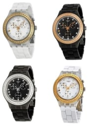 Swatch Unisex Diaphane Full-Blooded Stoneheart Chronograph Watch for $50 + free shipping