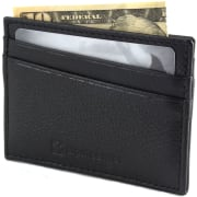 Art of Deals via eBay offers the Alpine Swiss Men's Minimalist Leather Front Pocket Wallet in several colors (Crosshatch Black pictured) for $6.99 with free shipping. That's tied with our mention from last April and the lowest price we could find by $5