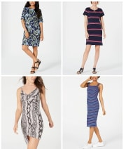 Women's Dresses at Macy's From $10 + Extra 15% off + free shipping w/ $75