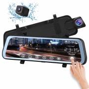 Chicom 1080p V21 Mirror Dashcam for $55 + free shipping
