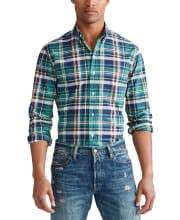 Polo Ralph Lauren Men's Classic Button-Down Oxford Shirt for $25 + pickup